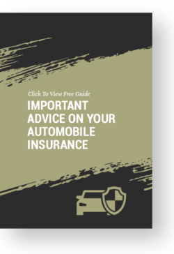 Important advice for auto insurance